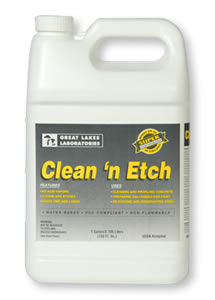 clean and etch Our Products